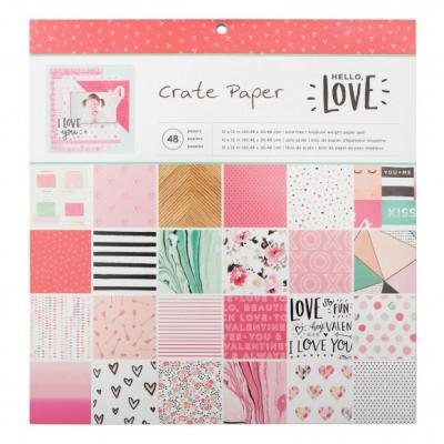 Crate Paper Hello Love