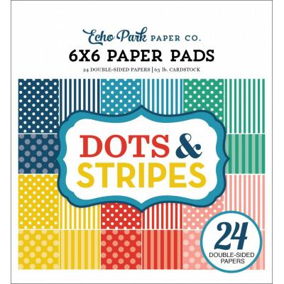 Echo Park Summer Dots & Stripes 6x6 inch