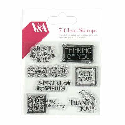 First Edition Clear Stamp - Sprüche