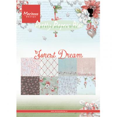 Marianne Designs Paperpad A5 - Forest Dreams
