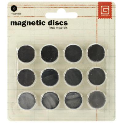 Basic Grey - Magnetic Discs .625