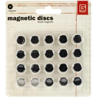 Basic Grey - Magnetic Discs .375