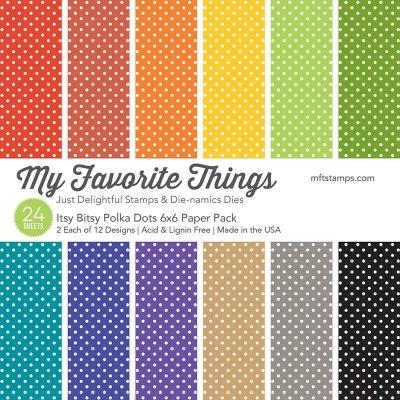 My Favorite Things Paper Pad - Polka Dots