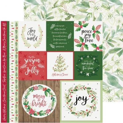 Kaisercraft Peace & Joy Designpapier - Merry