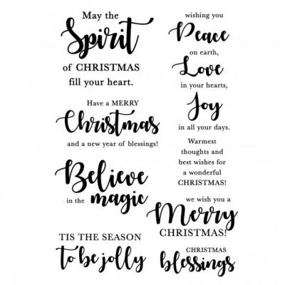 Kaisercraft Clear Stamps - Mix & Match Sentiments