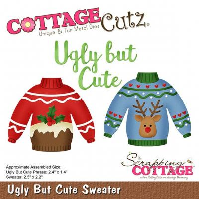 Cottage Cutz - Ugly But Cute Sweater