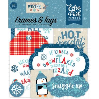 Echo Park - Celebrate Winter Frames & Tags