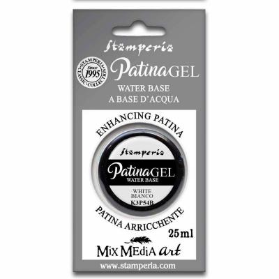 Stamperia Patina Gel White 25ml