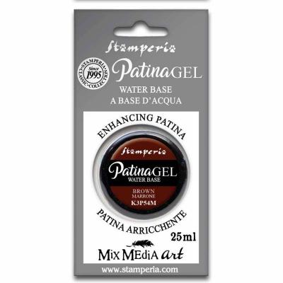 Stamperia Patina Gel Brown 25ml