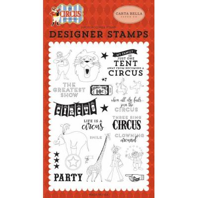 Carta Bella Clearstamps - The Greatest Show