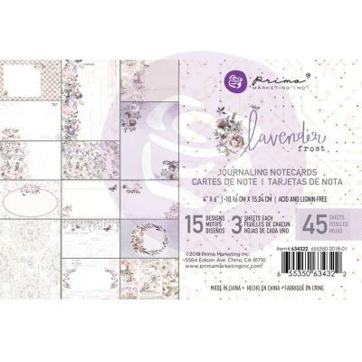 Prima Marketing Lavender Frost - Journaling Cards