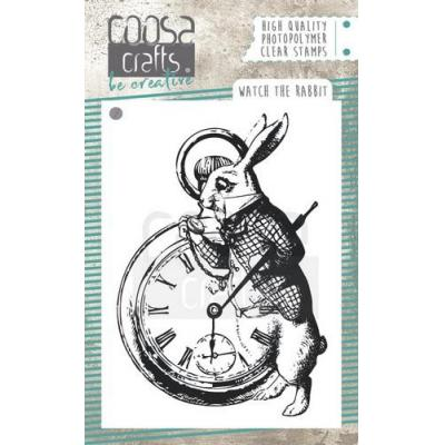 COOSA Crafts Clear Stamp - Watch the Rabbit