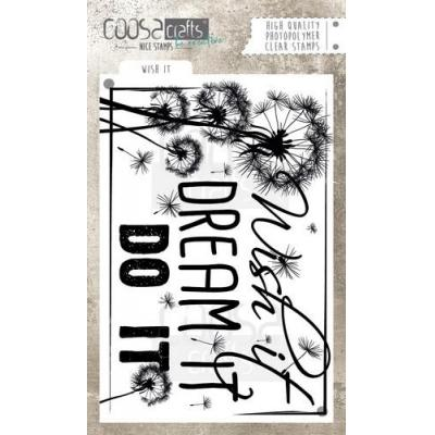 COOSA Crafts Clear Stamp - Wish It