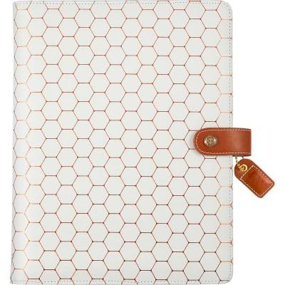 Websters Pages Composition Planner - Copper Hexagon