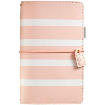 Websters Pages Traveler's Notebook Planner - Blush Stripe
