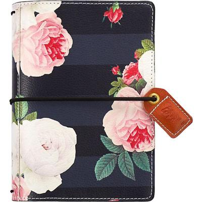 Webster Pages Color Crush Pocket Traveler's Planner - Black Floral