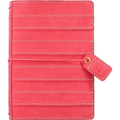 Webster Pages Color Crush Pocket Traveler's Planner - Pink Stitched Stripe