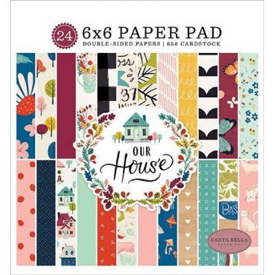 Carta Bella Paper Pad Our House