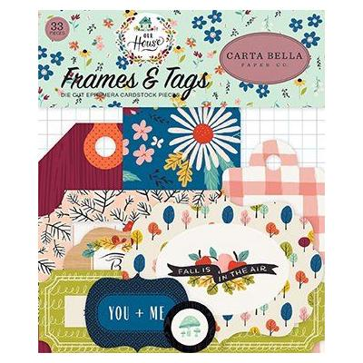 Carta Bella  Our House Frames & Tags