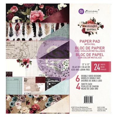 Prima Marketing Designpapier - Midnight Garden