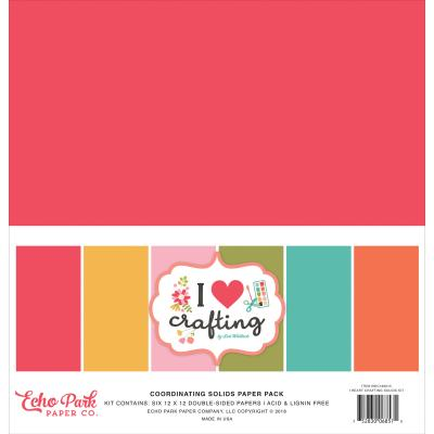 Echo Park - I Heart Crafting - Cardstock