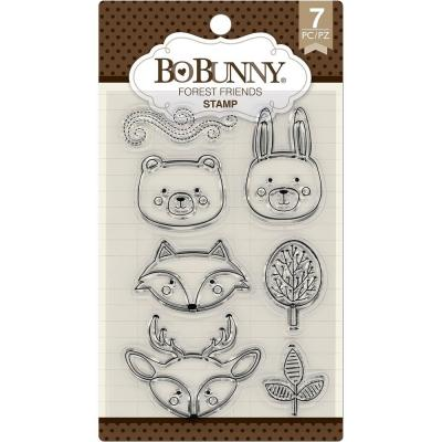 BoBunny Clear Stamps - Forest Friends