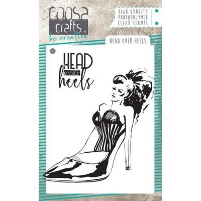 COOSA Crafts Clear Stamps - Head over Hills