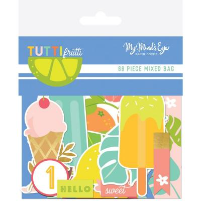 My Minds Eye - Tutti Frutti Mixed Bag Cardstock Die-Cuts