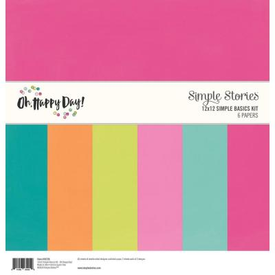 Simple Stories Oh Happy Day - Cardstock