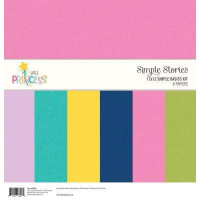 Simple Stories Basics Cardstock - Little Princess