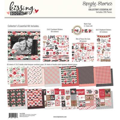 Simple Stories Collector's Essential Kit - Kissing Booth