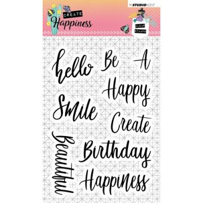 Studio Light Clear Stamps - Worte