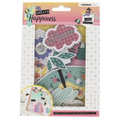 Studio Light Die-Cuts - Create Happiness