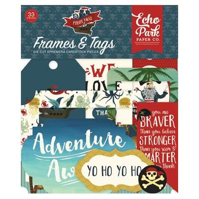 Echo Park Pirate Tales -  Frames & Tags