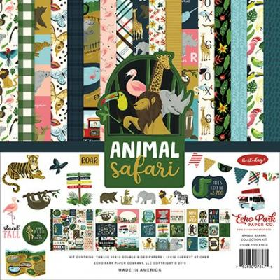 Echo Park Animal Safari - Collection Kit
