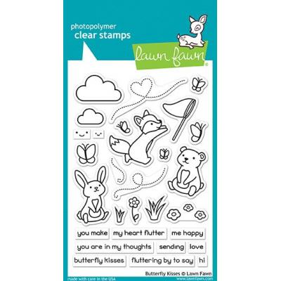 Lawn Fawn Clear Stamps - Butterfly Kisses