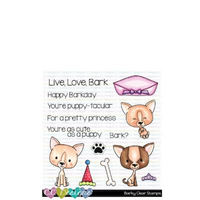 C.C.Designs Clear Stamps - Barky