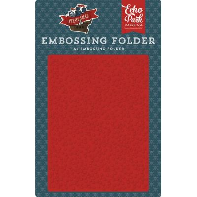 Echo Park Pirate Tales Embossing Folder  -  Pirate Spots