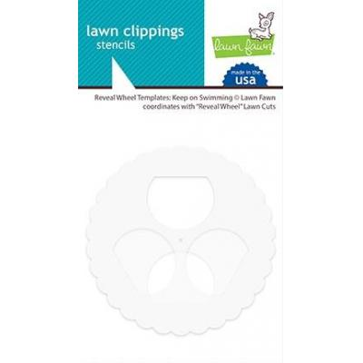 Lawn Fawn Reveal Wheel Templates - Keep On Swimming