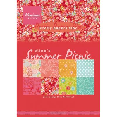 Marianne Design Paper Pad - Summer Picnic