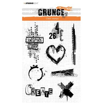 StudioLight Clear Stamps - Grunge - Create