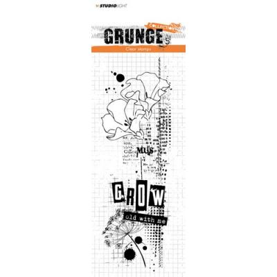 StudioLight Clear Stamps - Grunge - Grow