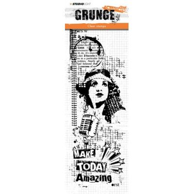 StudioLight Clear Stamps - Grunge - Dame
