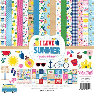 Echo Park I Love Summer - Collection Kit