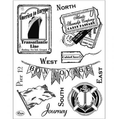 Viva Decor Clear Stamps - Journey