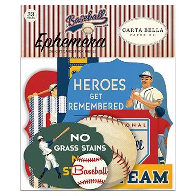 Carta Bella Baseball - Ephemera
