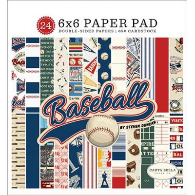 Carta Bella Baseball - Paper Pad
