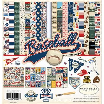 Carta Bella Baseball - Collection Kit