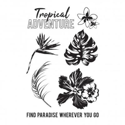 Kaisercraft Clear Stamps - Paradise Found