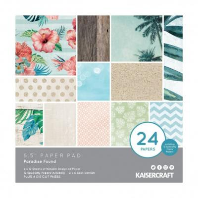 Kaisercraft Paper Pad -  Paradise Found